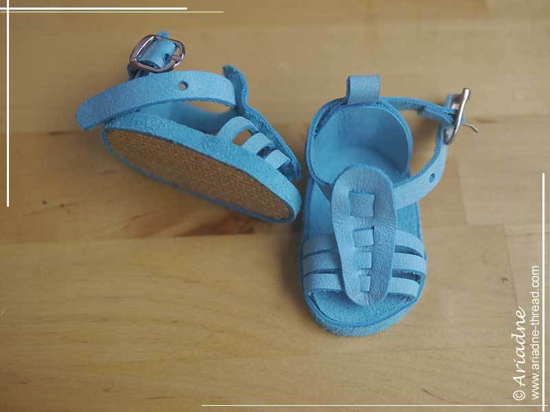 American-Girl-doll-blue-gladiator-shoes