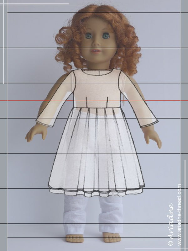 American Girl doll virtual fitting