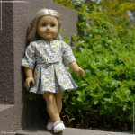 Floral dresses for American Girl dolls